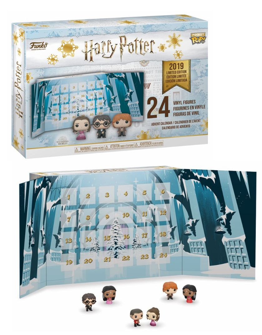Calendario Dellavvento Harry Potter Funko.Funko Pop Calendario Dell Avvento Harry Potter Wizarding World 2019