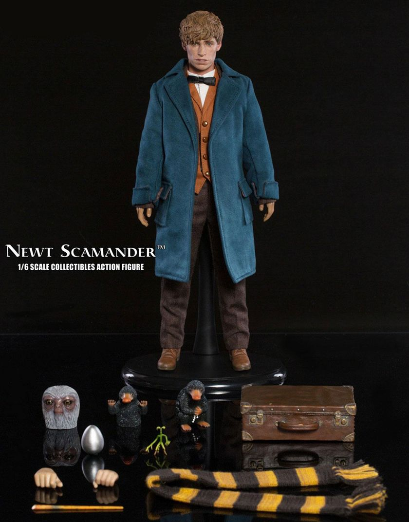 Figure Newt Toys Fantastic Scamander Beasts Star Action Ace 35RLA4j