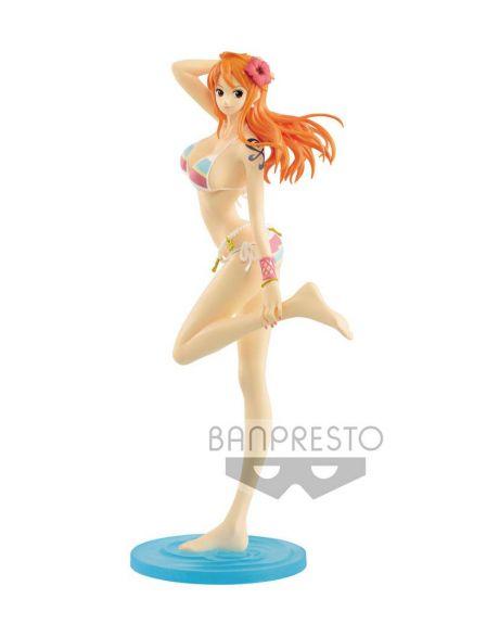 Banpresto One Piece Glitter & Glamours - Nami Walk Style Color Ver. B