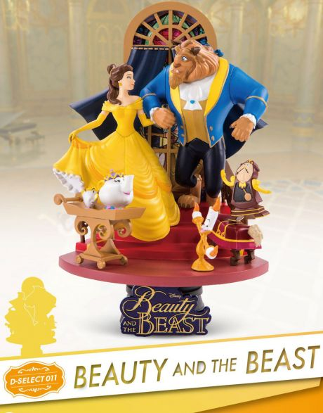 Beast Kingdom Toys Disney Diorama Beauty and the Beast