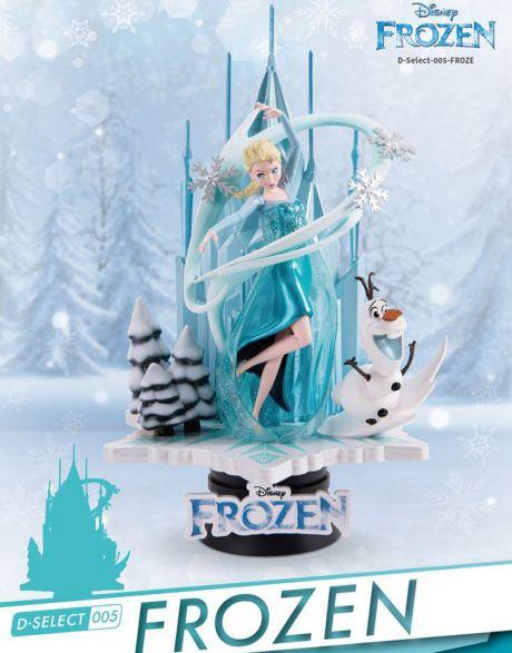 Beast Kingdom Toys Disney Diorama Frozen Elsa e Olaf