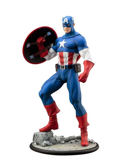 Marvel Universe ARTFX Statua Captain America Modern Mythology