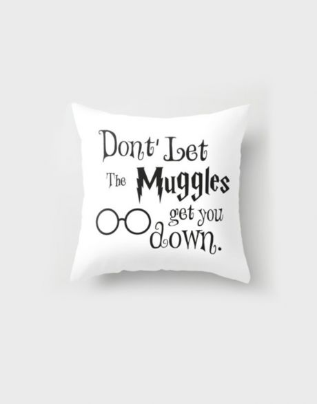 Cuscino Harry Potter Muggles