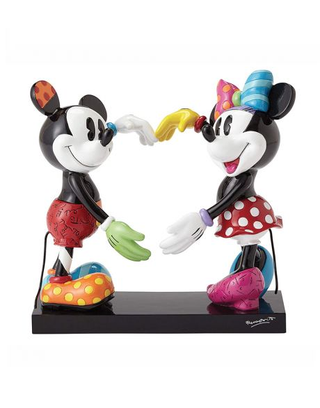 Disney Britto Collection Mickey and Minnie Figurine
