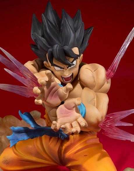Dragon Ball Son Goku Figuarts Zero dettaglio