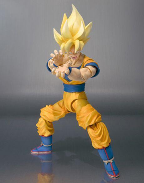 Dragon Ball Son Goku Super Sayan SH Figuarts onda energetica