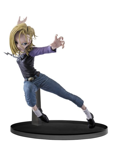 Banpresto Dragonball Figure Colosseum - Android No. 18