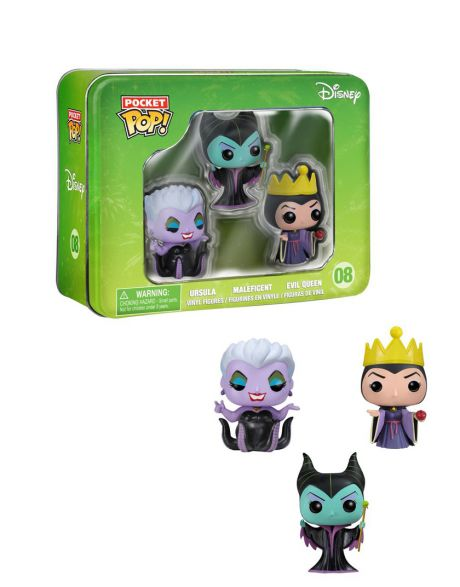 Funko Pocket Pop Box Disney Ursula Malefica Evil Queen