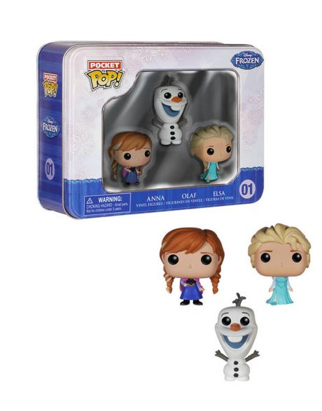 Funko Pocket Pop! Box Frozen - Anna Olaf Elsa
