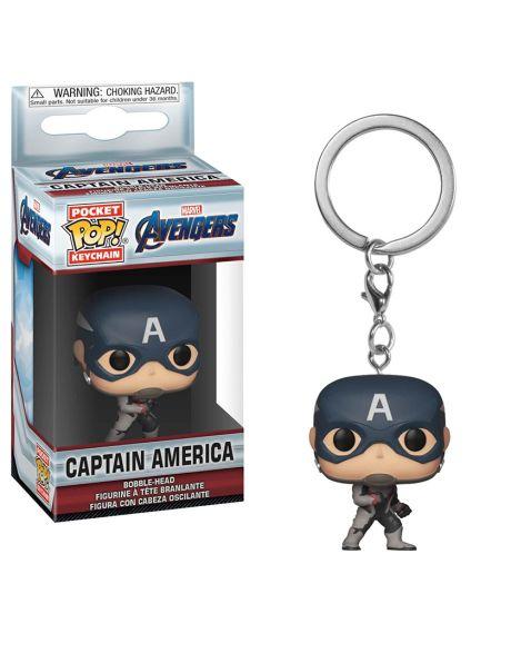 """Funko Pocket Pop! Keychain - Captain America """"Avengers Endgame"""""""