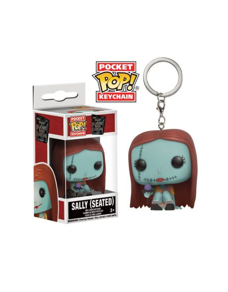 Funko Pocket Pop! Keychain Disney Nightmare Before Christmas - Sally (Seated)