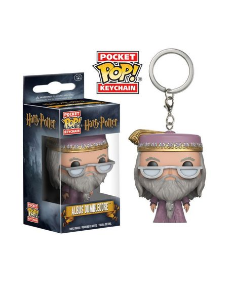 Funko Pocket Pop! Keychain Harry Potter - Albus Dumbledore (Silente)