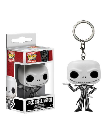 Funko Pocket Pop Keychan Nightmare Before Christmas Jack Skeletron