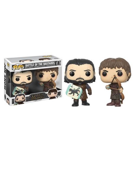 Funko Pop! Game of Thrones - Battle of the Bastards (2 Pack)