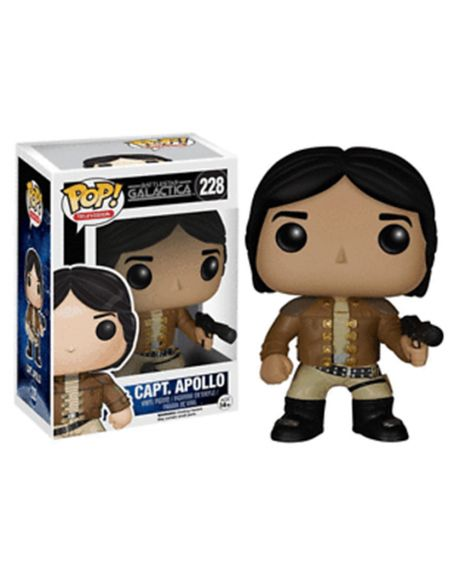 Funko Pop Battlestar Galactica Capt Apollo 228