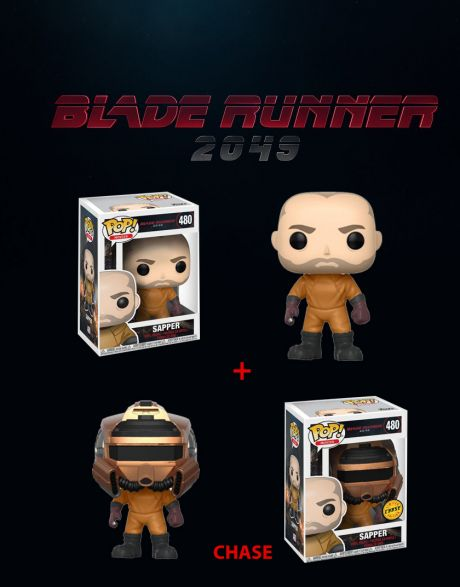 Funko Pop! Blade Runner 2049 - Sapper 480 (Regular + Chase)