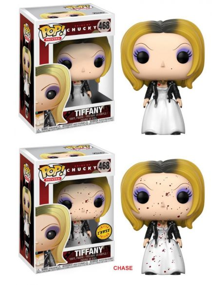 Funko Pop! Bride of Chucky - Tiffany 468 (Regular + Chase)