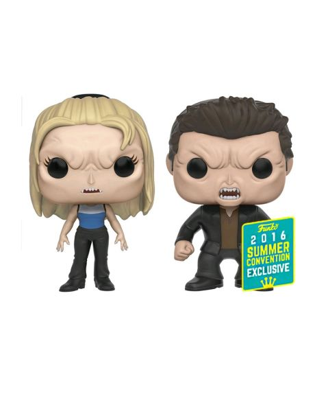 Funko Pop! Vampire Buffy and Vampire Angel (2 Pack)
