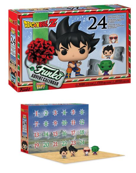 Funko Pop calendario dell'avvento Dragon Ball Z