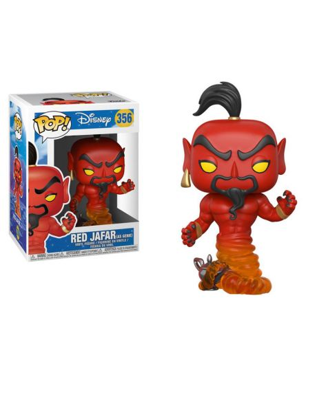 Funko Pop! Disney Aladdin - Red Jafar (As Genie) 356