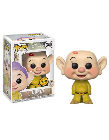Funko Pop! Disney Snow White and the Seven Dwarfs - Dopey 340 Chase