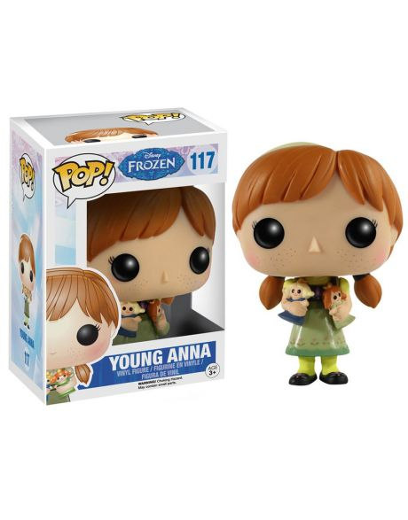 Funko Pop Disney Frozen Anna bambina 117