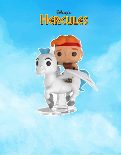 Funko Pop! Rides Disney Hercules and Pegasus
