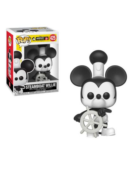 Funko Pop! Disney Mickey Mouse 90th Anniversary - Steamboat Willie 425