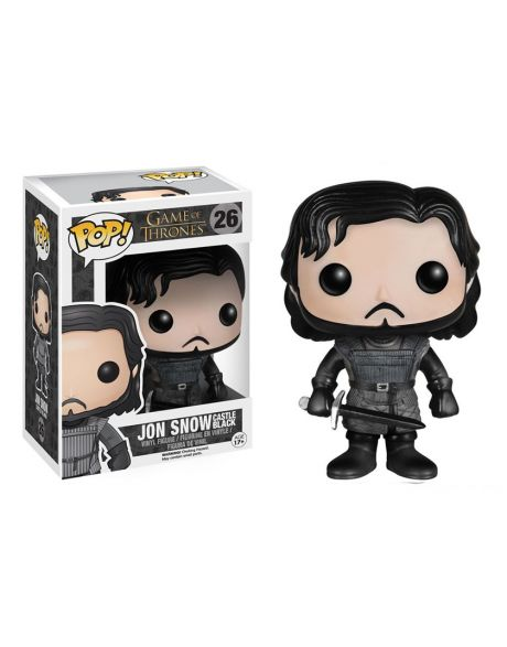 Funko Pop Game of Thrones Jon Snow castello nero 26