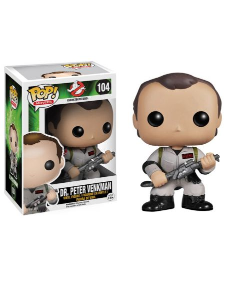 Funko Pop Ghostbusters Dr Peter Venkman 104