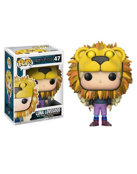Funko Pop! Harry Potter - Luna Lovegood with Lion Head 47