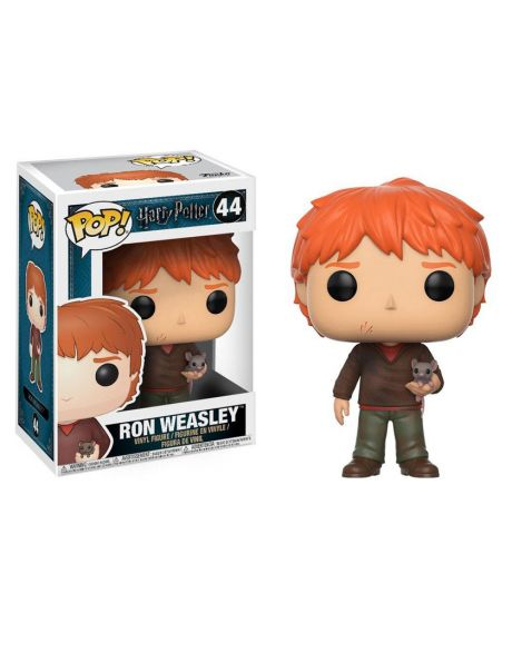 Funko Pop! Harry Potter - Ron Weasley with Scabbers 44