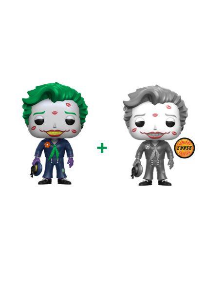 Funko Pop! The Joker Whit Kisses 170 - DC Comics Bombshells (Regular + Chase)