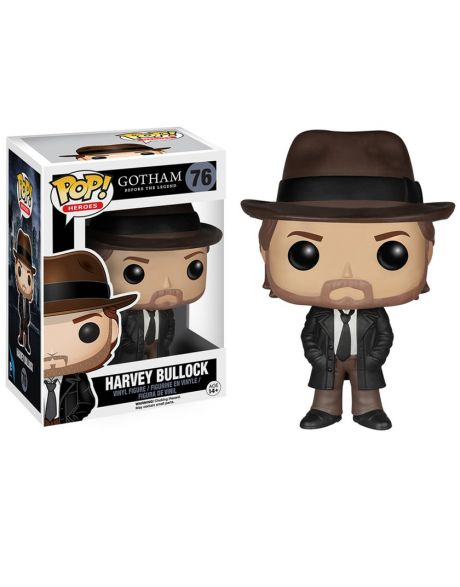 Funko Pop Heroes Gotham Harvey Bullock 76