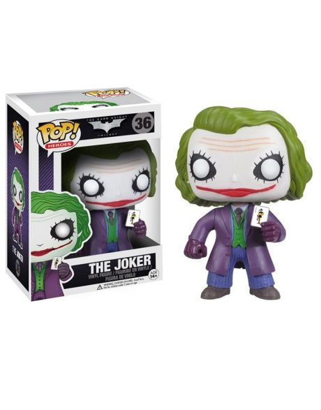 Funko Pop Heroes The Dark Knight Trilogy Joker 36