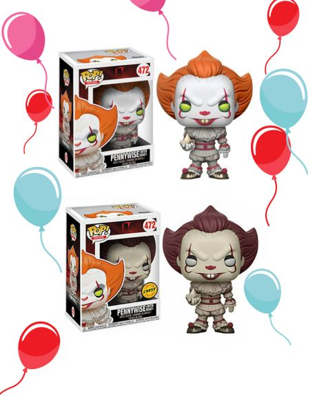 Funko Pop! It - Pennywise (Regular + Chase) 472