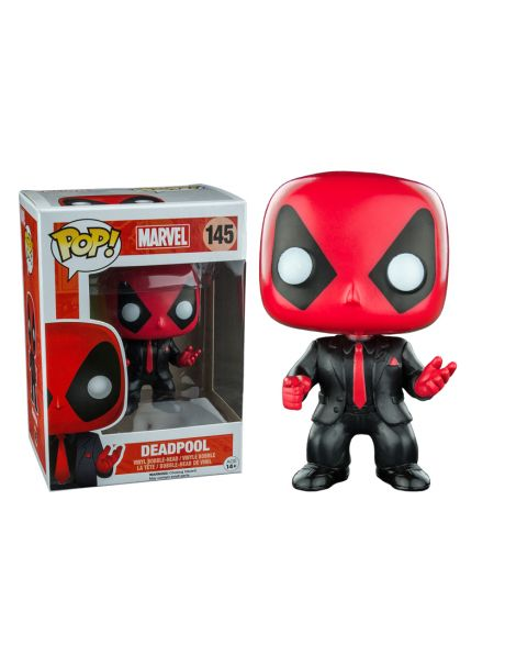 Funko Pop! Deadpool 145 (Dressed to kill)