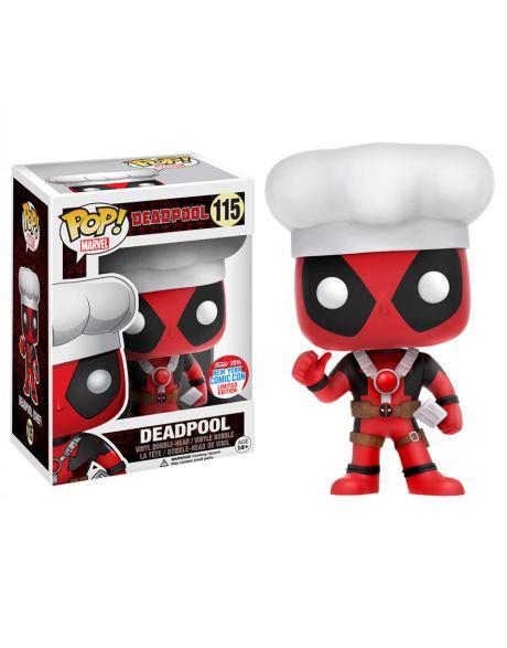 Funko Pop Marvel Deadpool Chef 115