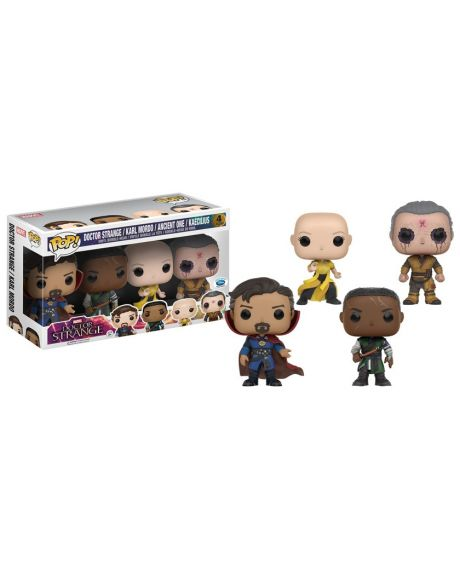 Funko Pop! Doctor Strange / Karl Mordo / Ancient One / Kaecilius (4 Pack)