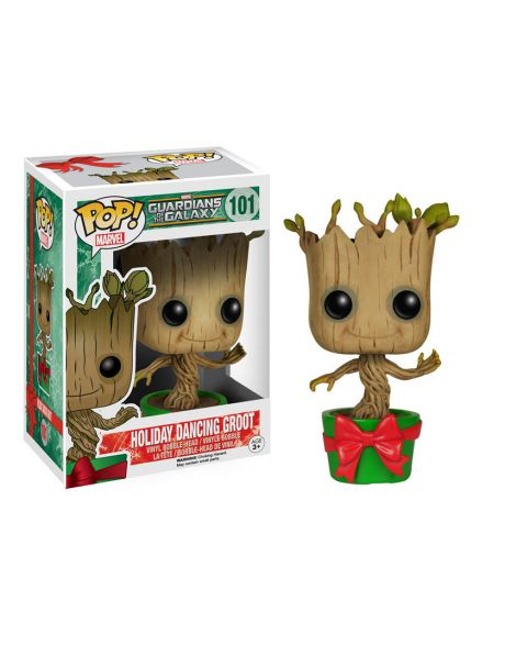 Funko Pop Marvel Guardiani della Galassia Holiday Dancing Groot 101