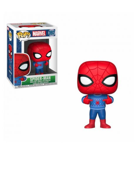 Funko Pop! Marvel Holiday - Spider-Man (Ugly Sweater) 397