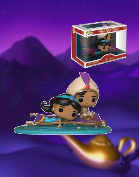Funko Pop! Movie Moments Disney Aladdin - Magic Carpet Ride 480