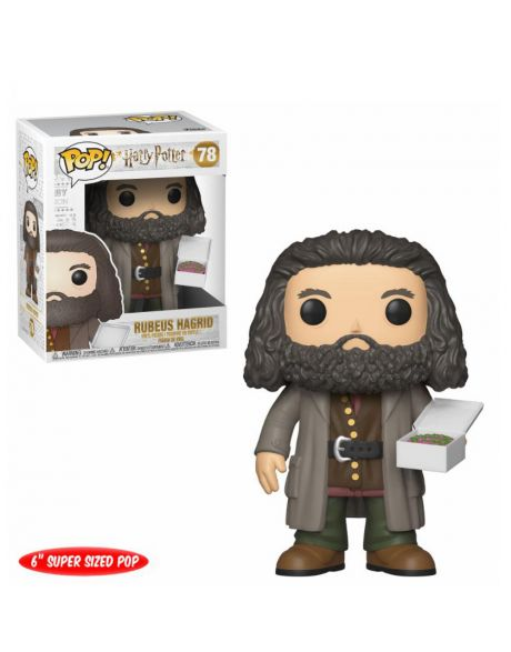 Funko Pop! Oversize Harry Potter - Hagrid with Cake 78