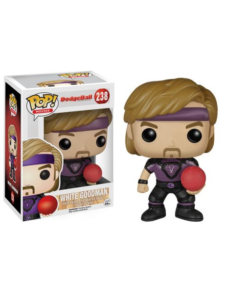 Funko Pop Palle al balzo Dodgeball White Goodman 238