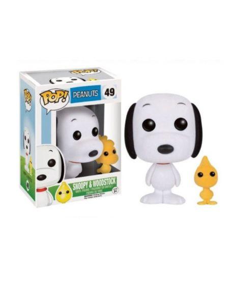 Funko Pop Peanuts Snoopy e Woodstock floccati 49