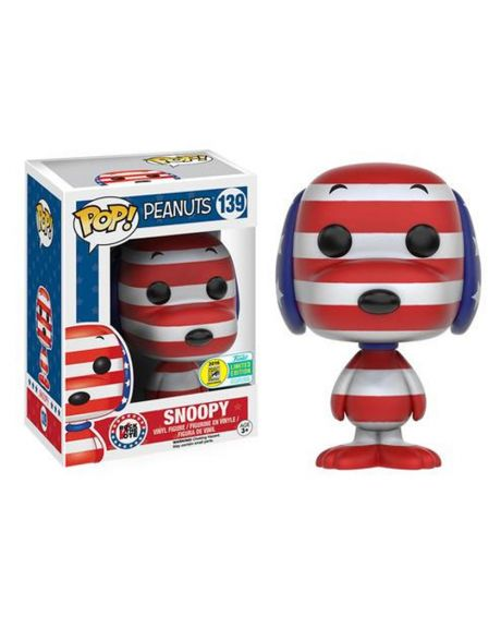 Funko Pop Peanuts Snoopy Rock The Vote 139