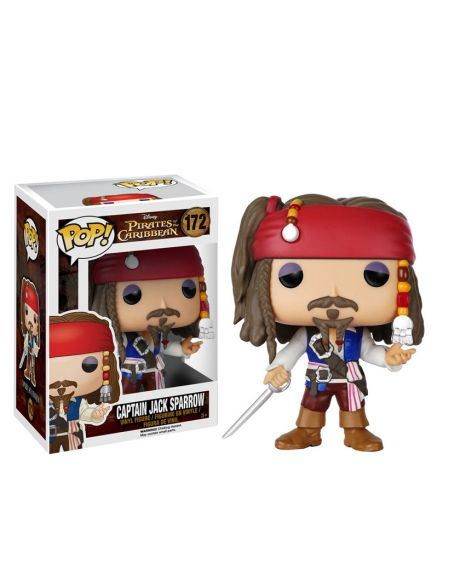Funko Pop! Captain Jack Sparrow 172