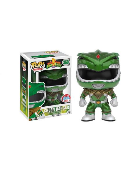 Funko Pop! Power Rangers - Green Ranger 360