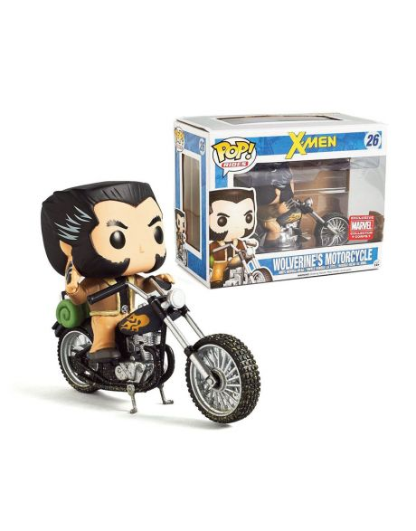 Funko Pop! X-Men Wolverine's Motorcycle 26
