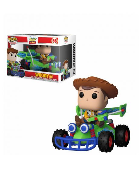 Funko Pop! Rides Disney Toy  Story - Woody & RC 56